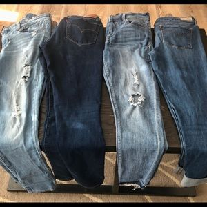 Women's Jeans (Levi's/Express)